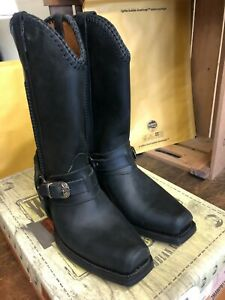 LOBLAN RH 548 Biker Boot (Black)   SALE!!!   RRP: £160   NOW: £80 !!!!