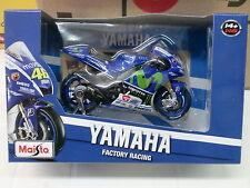 MAISTO 1/18 - YAMAHA FACTORY RACING VALENTINO ROSSI - MOTO GP 2015