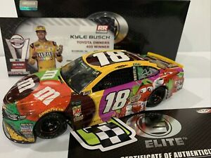 2018  #18 Kyle Busch M&M's Flavor Vote Richmond  Win Elite