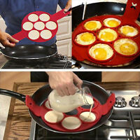Non Stick Pancake Pan Flip Perfect Breakfast Maker Eggs Omelette Flipjack Tools