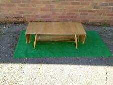 Ercol  vintage extending drop leaf coffee table