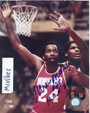 Moses Malone Houston Rockets Autographed Signed 8x10 Photo #2 HOF COA