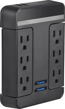 Open-Box Excellent: Rocketfish- 6-Outlet/2-USB Swivel Wall Tap Surge Protec...