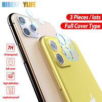 For iPhone 11,11 Pro,11 Pro Max Camera Lens Tempered Glass Protector Cover Film
