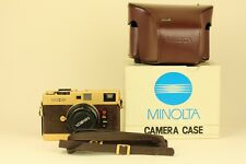 Minolta CLE Gold Edition + M ROKKOR 40mm f/2
