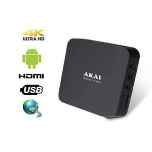 AKAI AKSB28 SMART TV BOX 2 + 8 GB ANDROID 7.1 Convertitore smart tv
