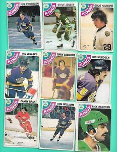 (16) LOS ANGELES KINGS 1978-79 O-PEE-CHEE  FAIR/VG CARD (V1450)