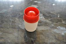 Tupperware Junge Welle Eierbecher weiß/rot// Neu