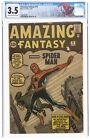 Amazing Fantasy #15 CGC 3.5 First Appearance Of Spiderman!!! No reserve!
