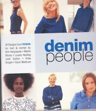 Rowan knitting patterns - Denim People x30. Martin Storey. Eddie Redmayne model