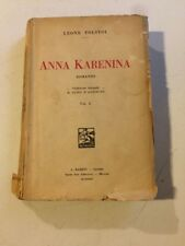 Libro Anna Karenina Di Leone Tolstoi