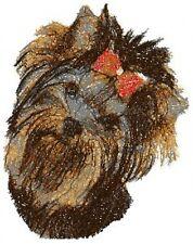 Embroidered Sweatshirt - Yorkshire Terrier Yorkie Aed14888