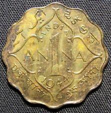 1944 India 1 Anna Coin