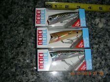 3 Rebel Saltwater Super Pop R Fishing  Redfish, Speckled Trout & Barfish Lures