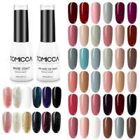 TOMICCA Gel Nail Polish Set 6 Colors 8ml Manicure Soak Off UV LED Nail Art