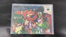 Banjo Kazooie Nintendo 64 N64 Case with Free Artwork * NO GAME *
