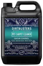 Dirtbusters Pet Carpet cleaning solution shampoo deodoriser treatment 5L vax