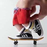 En bois touche Skateboard Gator Moule GM1720H Tech Finger Board Deck Jouet