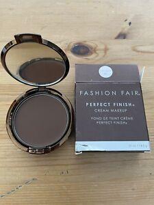 "Fashion Fair Perfect Finish® Cream Makup BNIB ""EBONY BROWN"" 4461"