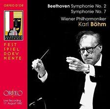 Beethoven / Vienna Philharmonic / Bohm - Symphonie No. 2 & 7 [New CD]