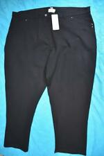 BeMe NEW Size 26 NEW rrp $59.99.Stretch BLACK Ponte Pants/Jeans Stylish Comfort