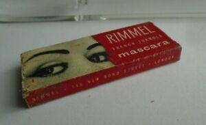 Vintage 1960's  make up , Rimmel French Formula Mascara ,block . Rare item