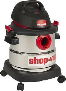 Shop-Vac 5989300 6 Gallon 4.5 Peak HP Vacuum Cleaner - Silver
