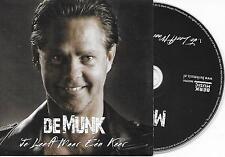 DANNY DE MUNK - Je leeft maar een keer CD SINGLE 1TR DUTCH CARDSLEEVE 2015