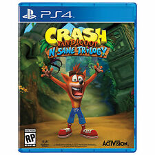Crash Bandicoot: N. Sane Trilogy (Sony PlayStation 4, 2017) SHIPS ASAP