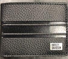 Harley Davidson Bi Fold Embossed Wallet