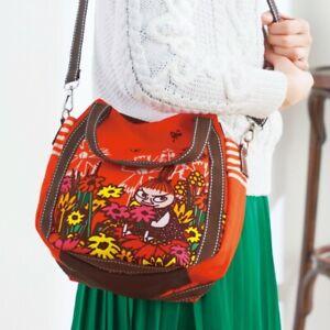 Moomin Little My 2Way Mini Tote Bag Shoulder Purse Handbag Japan Gift B5621
