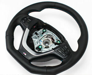 Volant  aplati  cuir BMW F25 X3 F26 X4 MULTIFONCTION Echange standard-