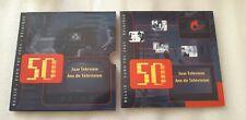 """belgique set euro 2003 BU + meddaille """" 50 ans de la television"""