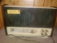 VINTAGE SEARS SILVERTONE AM/FM RADIO estate find