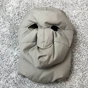 Vintage Eddie Bauer Goose Down Face Mask Expedition Extreme Cold Balaclava