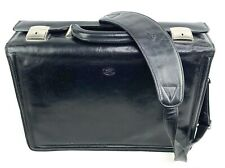 TONY PEROTTI Leather Briefcase Messenger Laptop Shoulder Bag Made in Italy