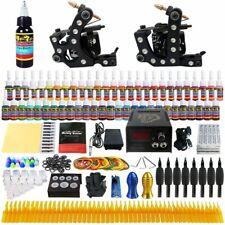 Solong Tattoo Kit 2 Professional Machine Gun 54 Inks Power Supply New & Boxed