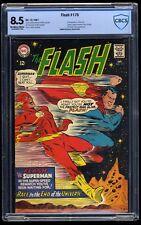 Flash #175 CBCS VF+ 8.5 Off White to White Superman race! DC Comics