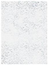 "25Blatt HEYDA Transparentpapier ""Roma"" silber DINA4 115g Schnörkel Hochzeit edel"