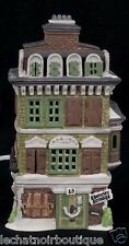 Department 56 Dickens Village The Flat Of Ebenezer Scrooge 1989 Lights See Video