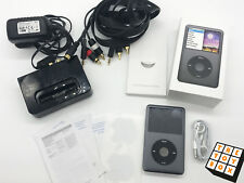 Apple iPod Classic 7th Generation 160GB Boxed w/ Denon Docking Station