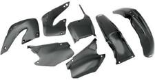 UFO Plastics Complete Body Kit Black Honda CR125R 00-01 CR250R HOKIT100-001