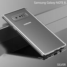Housse Etui Coque Bumper Case Cover TPU Samsung Galaxy NOTE 8 couleur Gris