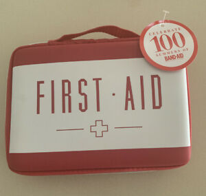 First Aid Kit DYI Bandaid Target Red Cross Empty New