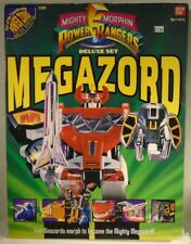 Mighty Morphin Power Rangers 1993 Deluxe Dino Megazord MMPR Mint In Sealed Box