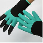 1 Pair Claws Digging Planting Gardening Gloves 4 ABS Plastic Garden Gloves Tool
