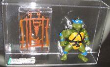 AFA U80 TMNT Loose Leonardo Action Figure 1988 Playmates Vintage Ninja Turtles
