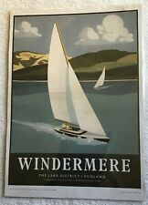 WINDERMERE The Lake District - England  297 x 420 mm print 2012