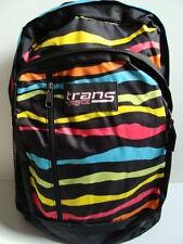 Nwt Jansport Girls Trans MegaHertz Backpack Laptop Zebra Book Bag Digital New
