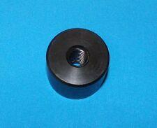 304010-cyl  Cylinder nut, 1/2-10 acme RH thread, single start, Black Delrin
